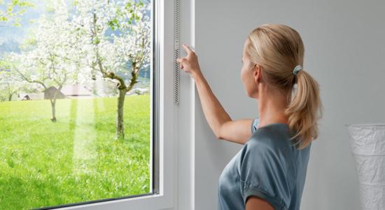 Con Internorm ricambi l'aria senza aprire le finestre